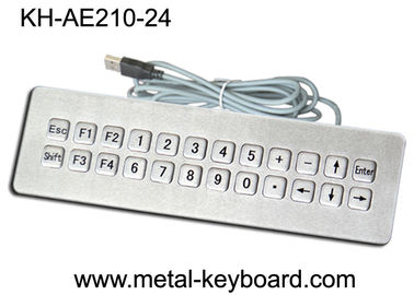 Trung Quốc IP65 Rated waterproof computer keyboard , water resistant keyboard 24 Keys nhà máy sản xuất