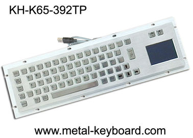 Trung Quốc Metal Industrial Keyboard with Touchpad , Vandal - Resistance metallic keyboard nhà máy sản xuất
