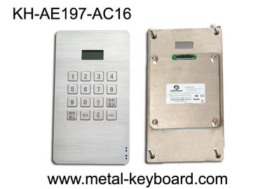 Trung Quốc Dustproof Access Entry System stainless steel keypad with 16 Keys nhà máy sản xuất