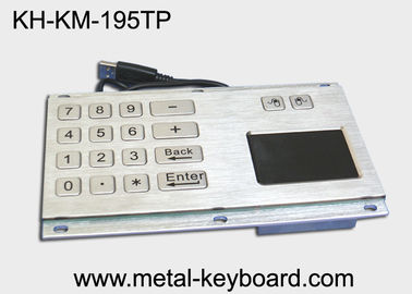 Trung Quốc IP65 Water - proof Industrial Touchpad Keyboard with Digital Keypad Design nhà máy sản xuất