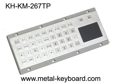 Trung Quốc Industrial Metal Panel Mount Keyboard with Touch pad , Ruggedized Keyboard nhà máy sản xuất