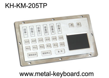 Trung Quốc Dust - Proof Panel Mount Keyboard with Stainless Steel Material for Info - Kiosk nhà máy sản xuất