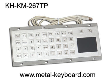 Trung Quốc Custom Mine Vandal proof Metal Panel Mount Keyboard with Touchpad Mouse nhà máy sản xuất