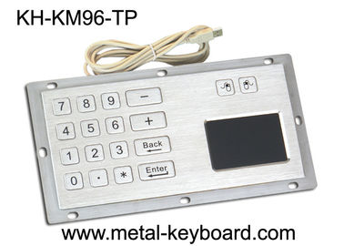 Trung Quốc Industrial Panel Mount Touchpad Keyboard with USB Interface , Custom Mechanical Keyboard nhà máy sản xuất