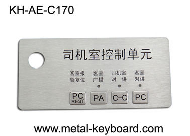 Trung Quốc Custom Stainless Steel Panel rugged keypad For Intelligent Parking System nhà máy sản xuất